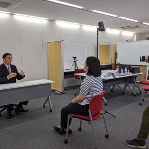本日は「講演依頼・講演紹介のノビテクマガジン・ビジネスタレント」掲載の写真撮影をノビテクさんで実施しました。