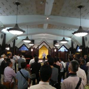 八尾高校同窓会東京支部ビアパーティーが銀座クラシックホールで開催されました。