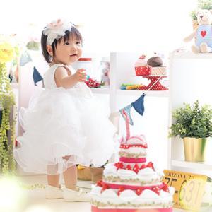 1才のお誕生記念撮影です(^^♪  むつ市・NCスタジオ青森@なりたカメラ写真館
