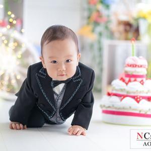 1才お誕生記念♪   むつ市・NCスタジオ青森@なりたカメラ写真館