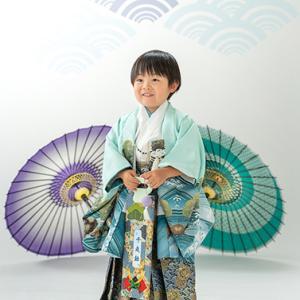 七五三記念♪男の子!!  むつ市・NCスタジオ青森@なりたカメラ写真館