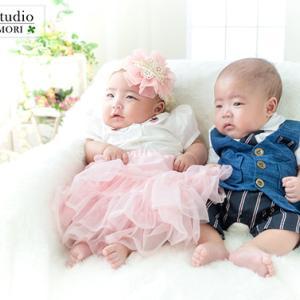 百日記念&家族撮影♪    むつ市・NCスタジオ青森@なりたカメラ写真館