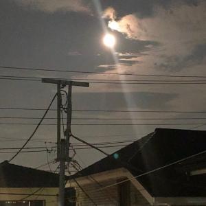 昨日の満月☆