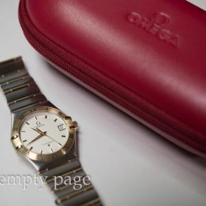 オメガの腕時計をオーバーホールに出した話
