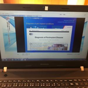 インプラント学会Web開催