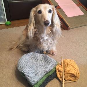手編みで3色ネップのキャミソール ○o。.d(*´∀`*)b.。o○デ━ス!!