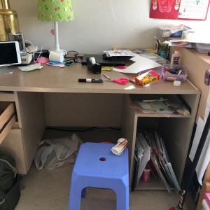 娘の椅子はベトナムの屋台の椅子(?)