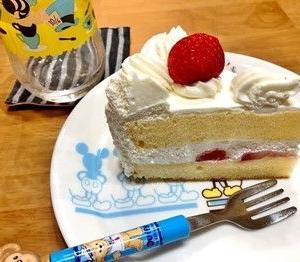 どこかのショートケーキ