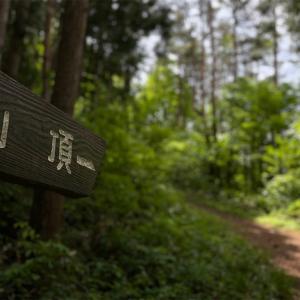 【ソロ登山】冷凍餃子買いに行くついでに宇津峰登山(676.9m)