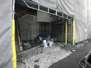 外壁塗装工事着手