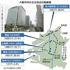 『新大阪』人気上昇中