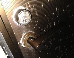 倉庫の鍵の破錠開錠