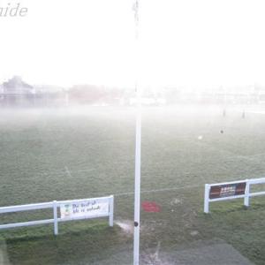 留学9日目の朝です:霧の都