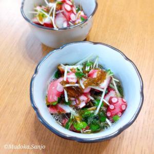【レシピ】ズボラ管理栄養士!もずく酢で作る酢の物