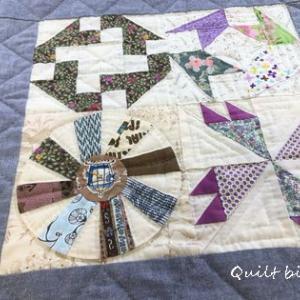 サンプラーパターンでお座布団&赤ちゃんテトとふーくん