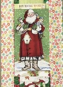 クリスマスタペストリー&パターンのピースワーク