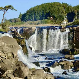 """曾木の滝へ〜「曾木の滝公園」の紅葉黄葉美しく*2020年11月9日""""大雨、お見舞い申し上げます。"""