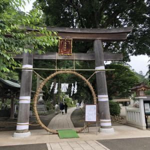 大茅の輪くぐり@高麗神社