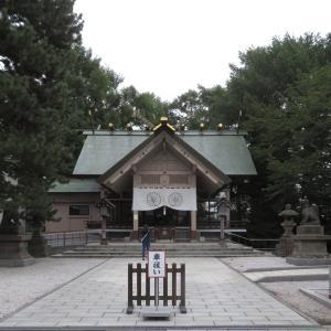 久々の白石神社