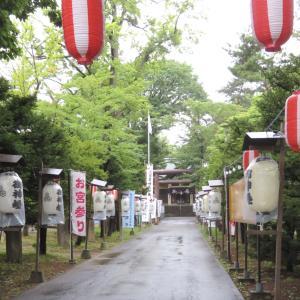 雨の月寒神社
