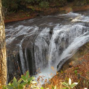 恵庭117号線の滝①白扇の滝②ラルマナイの滝③三段の滝