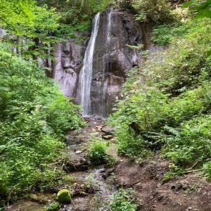 有明の滝散歩