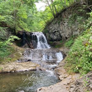 平和の滝8月3日