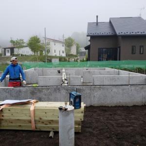軽井沢M邸様建て方工事始まります!