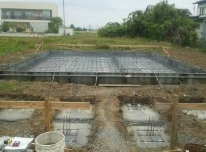 前橋市N邸様の基礎工事が着工しています!!