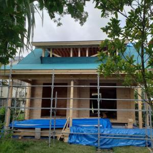 千葉県長生村建て方工事が無事完了!