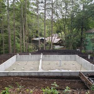 軽井沢レイクニュータウンK邸様の基礎工事完了です!