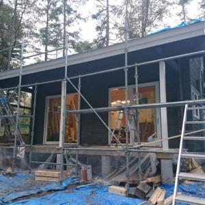 レイクニュータウンK邸様の塗装工事終わりました!