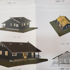 群馬県中之条町でもログハウス建築ご検討いただいております!