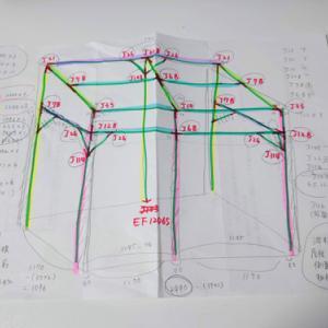 ウッドデッキの屋根づくり 設計編