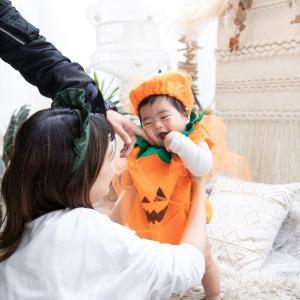 【生まれて初めてのハロウィン☆可愛く撮る方法!】