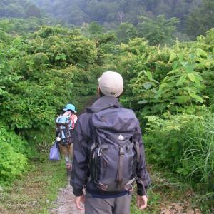雨飾山登山&キャンプ
