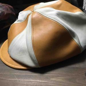 15日締め切りの革帽子!