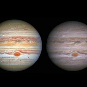 HSTが撮った木星 2020/08/25
