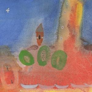 イタリア風景「また来てね」ヴェネチア2019年 水彩画のご紹介です。