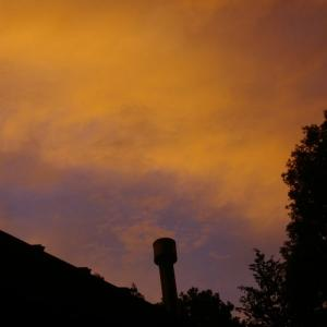 7月1日の夕空