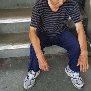 78歳男性と毎朝運動