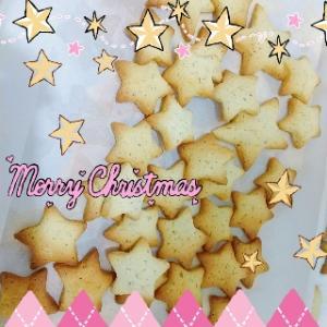 紅茶とオレンジのお星さまクッキー