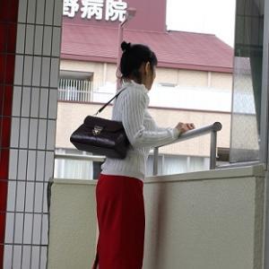 【今日の服】ウェーブ~バッグの大きさ☆手放したもの457/2020