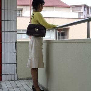 【今日の服】スカートのラインに疑問☆手放したもの489/2020