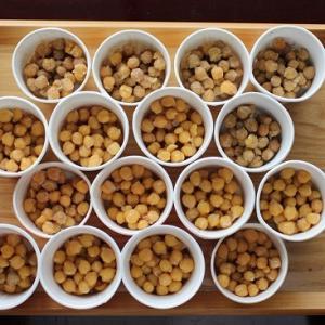 【ひよこ豆の納豆】納豆はどの豆で作ったが良いか、真剣に考えた。手放したもの(今日は2)792/2020