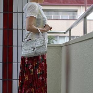 【今日の服】写真は雄弁(うそをつかない)☆経木におにぎり二つ。