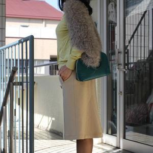 【今日の服】にしだ果樹園さんより、コメント~追記します☆朝ごはんに太秋柿