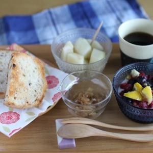 【経木は使える!】例えば、メバルの煮付け☆米粉パン「クルミとドライフルーツ」