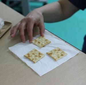 【食のタイプがチェックできる】クラッカーテスト☆やってみました。
