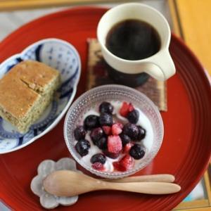 【硬くなったパウンドケーキ再生法】ミルクダンク法(大げさ)☆娘も母も具合悪い日♪